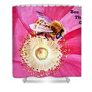 Bee The One Shower Curtain