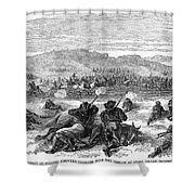 Beecher Island, 1868 Shower Curtain