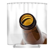 Beer Bottle Neck 3 Shower Curtain