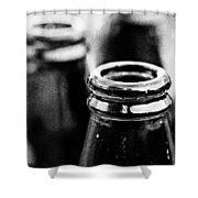 Beer Bottles Shower Curtain
