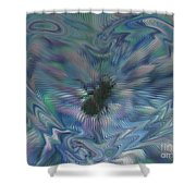 Beetle Love Shower Curtain