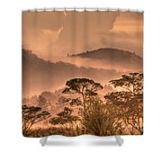 Before Sunset Shower Curtain