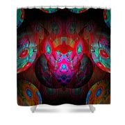 Behind The Eyes 3  Shower Curtain
