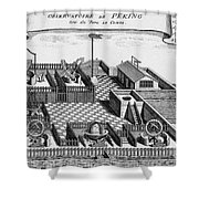 Beijing Ancient Observatory, 1747 Shower Curtain