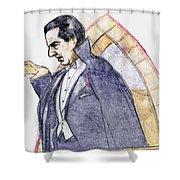 Bela Lugosi Shower Curtain