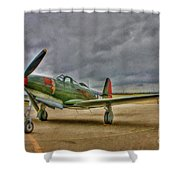 Bell P-63 Kingcobra Shower Curtain