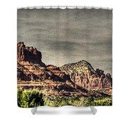 Bell Rock - Sedona Shower Curtain by Dan Stone