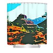 Bell Rock Sedona Arizona Shower Curtain