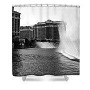 Bellagio Fountains II Shower Curtain