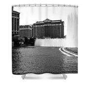 Bellagio Fountains Shower Curtain
