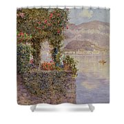 Bellagio From Tremezzo Shower Curtain
