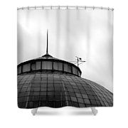 Belle Isle Anna Scripps Whitcomb Conservatory Shower Curtain