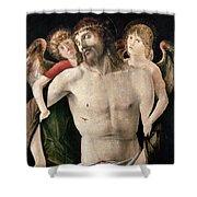 Bellini: Pieta Shower Curtain