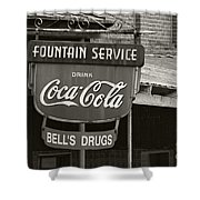 Bell's Drugs - D003280 Shower Curtain