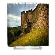 Belver Castle Shower Curtain by Carlos Caetano