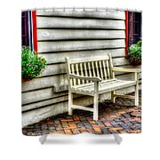 Bench Me Shower Curtain