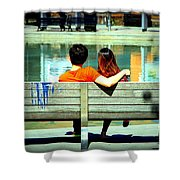 Benchlovers Shower Curtain