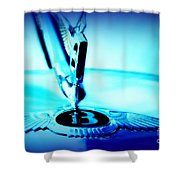 Bentley Hood Ornament Shower Curtain
