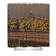 Berlin Cathedral ... Shower Curtain by Juergen Weiss