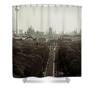 Berlin From The Victory Column Shower Curtain