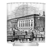 Berlin: Opera House, 1843 Shower Curtain