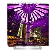 Berlin Sony Center Shower Curtain