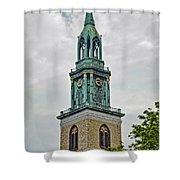 Berlin Steeple Shower Curtain