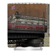 Berlin Train Shower Curtain