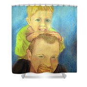 Best Buddies Shower Curtain