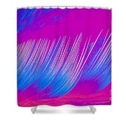 Beta-carotene Crystal Shower Curtain