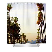 Beverly Hills In La Shower Curtain