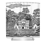 Bewick: Landscape Shower Curtain