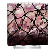 Beyond The Chain Link Shower Curtain