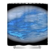 Beyond The Clouds Shower Curtain