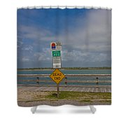 Beyond The End Shower Curtain
