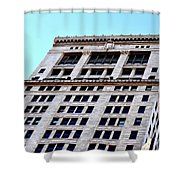 Bham Architecture Shower Curtain