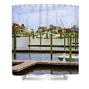 Bhi Marina Shower Curtain