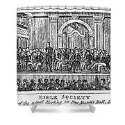 Bible Societies Shower Curtain