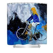 Bicycle 77 Shower Curtain
