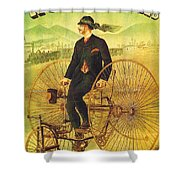 Bicycles And Tricycles Shower Curtain