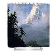 Bierstadt: Matterhorn Shower Curtain by Granger