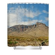 Big Bend Splendor Shower Curtain