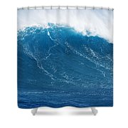 Big Blue Wave Shower Curtain