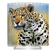 Big Cat Shower Curtain