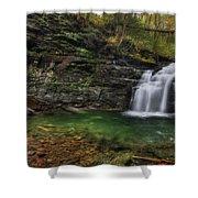 Big Falls - Heberly Run Shower Curtain