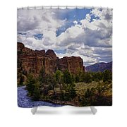 Big Horn National Forest Shower Curtain