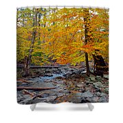 Big Hunting Creek Down Stream From Cunningham Falls Shower Curtain