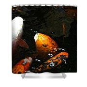 Big Lip Koi Spit Shower Curtain