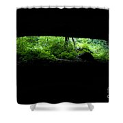 Big Mouth Cave, Tennessee Shower Curtain