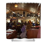 Big Nigerian Church In Lagos Shower Curtain